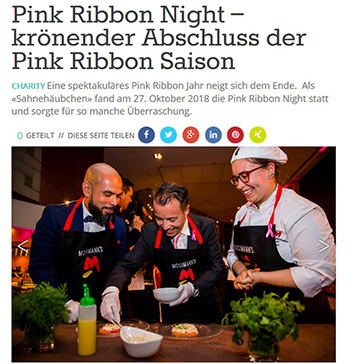 Pink Ribbon Night – krönender Abschluss der Pink Ribbon Saison