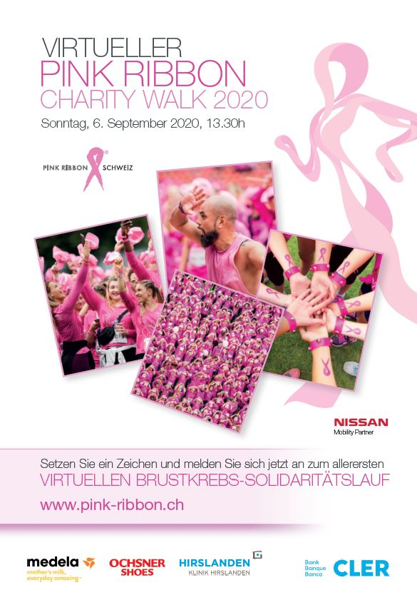 Pink Ribbon Charity Walk Flyer   Tittelbild 120Pixel