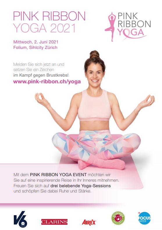 Yoga Flyer vorderseite